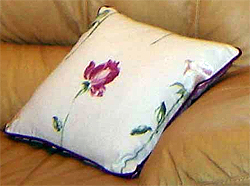 Villa Nova Style Feather Filled Cushion