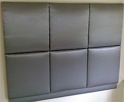 Soft Quilted Modern Headboard